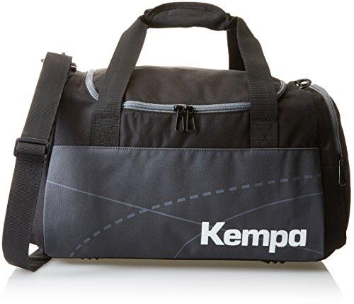 Kempa Teamline Sporttasche Schwarz/Anthra