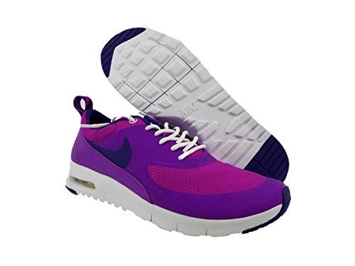Nike Air Max Thea (Gs), Chaussures de Sport Fille, EU Violet - Morado (Morado (Hyper Violet / Court Purple-Wht))