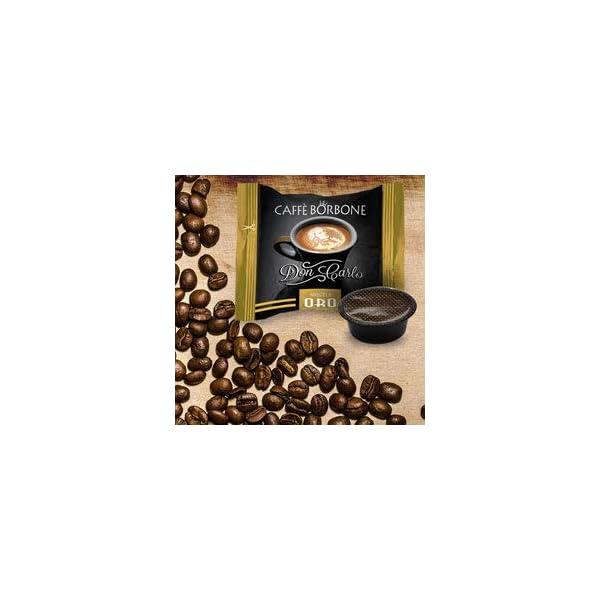 50 Capsule caffè Borbone Don Carlo oro a modo mio 4 spesavip