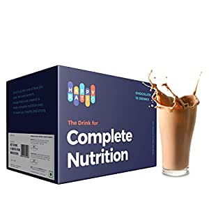 Happy Ratio - The Drink for Complete Nutrition, 1kg (Chocolate, 10 Drinks)