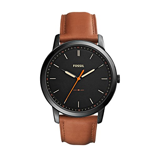 Fossil Herren-Uhren FS5305 (Orange Fossil Herren Uhr)