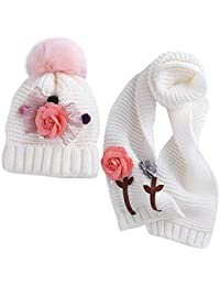 Amazon.it  set cappello sciarpa bimba - Bambine e ragazze  Abbigliamento f8dcf9306aa2