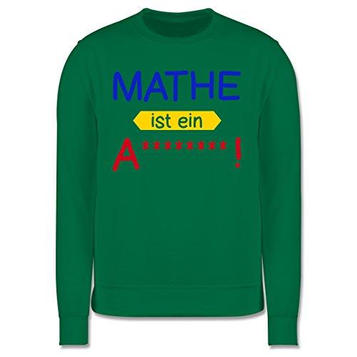 Sprüche - Mathe ist ein A - Herren Premium Pullover Grün