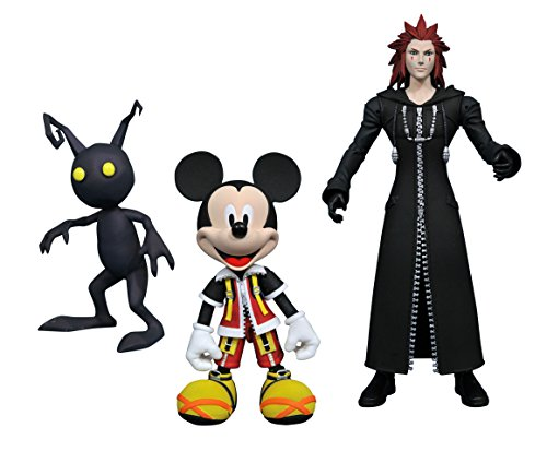 Kingdom Hearts APR178612 Select Series 1 - Mickey Action Figure / Axel and Shadow