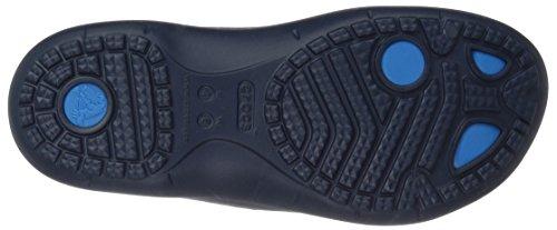 crocs Modi Sport Flip, Infradito Unisex – Adulto blau