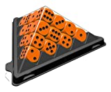 ABACUSSPIELE 03113 - Spiel mini - Würfelpyramide orange, Würfelspiel