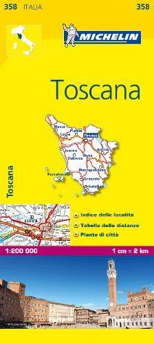 Mapa Local Italia Toscana Mapas Local Michelin