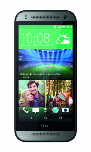 HTC One mini 2 Smartphone (11,4 cm (4,5 Zoll) Touchscreen, 1,2GHz, Quad-Core-Prozessor, 1GB RAM, 13 Megapixel Kamera, 16GB interner Speicher, Nano-SIM, Android 4.4.2 KitKat) grau