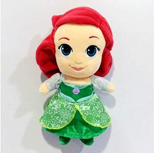 ahzha Plüsch Puppen Die Kleine Meerjungfrau Ariel Prinzessin Flunder Fisch Weiche Puppe Kinder Stofftiere Für Kinder Geschenke (Von Meerjungfrau Kleinen Der Flunder)