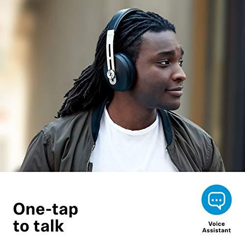 Sennheiser Momentum Wireless Kopfhörer (mit Geräuschunterdrückung, automatischer Ein-/Ausschaltung, Smart-Pause-Funktion und Smart Control App) - 5