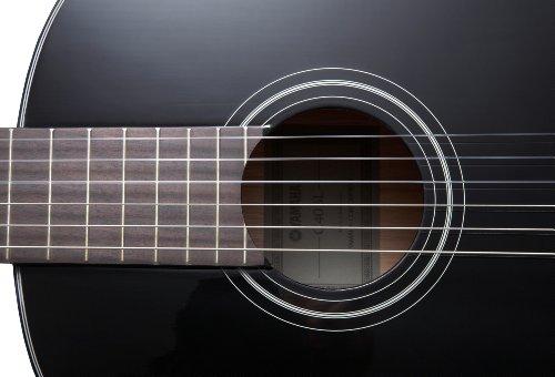 Yamaha C40II Full Size Classical Concert Guitar - Black
