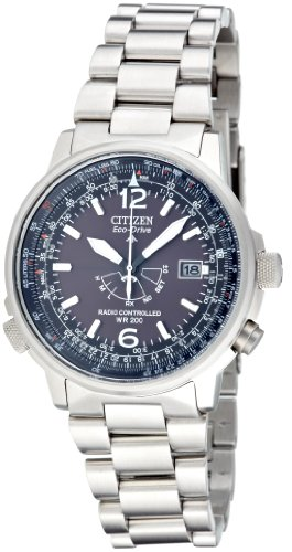 Citizen Herren-Armbanduhr Promaster Sky Pilot Analog Quarz AS2020-53E