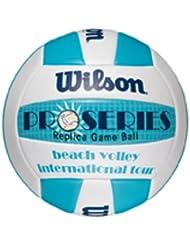 Wilson Beachvolleyball Pro Series Replica, weiß/blau, Size 5