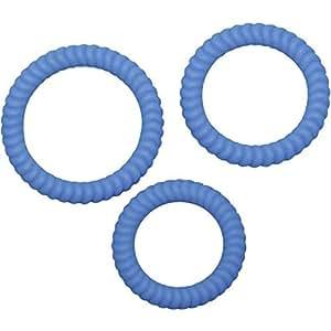 You2Toys Lust 3 Penisringe Blue, 1 Stück