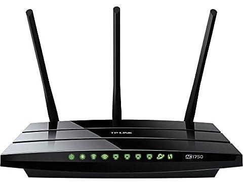 TP-Link Routeur 1750 Mbps Wi-Fi Gigabit Bi-Bande: 450 Mbps en