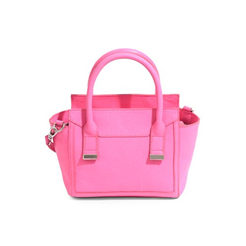 Danielle Nicole Alia Mini Satchel Donna Ecopelle Neon Pink