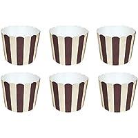 BESTONZON 50 unids Cupcake Paper Moldes Papel Copa de Horneado de Muffin Taza Papel para Cumpleaños y Fiestas