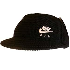 Nike - Casquette de Baseball -  Femme Noir Black with White Logo