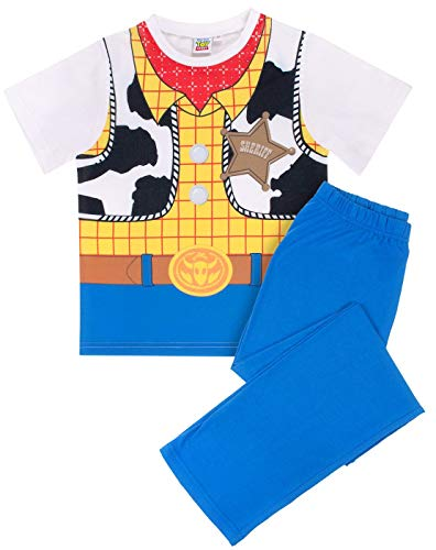 Woody Kostüm Shirt - Disney Toy Story Woody Costume Boy's Kid's Pyjamas