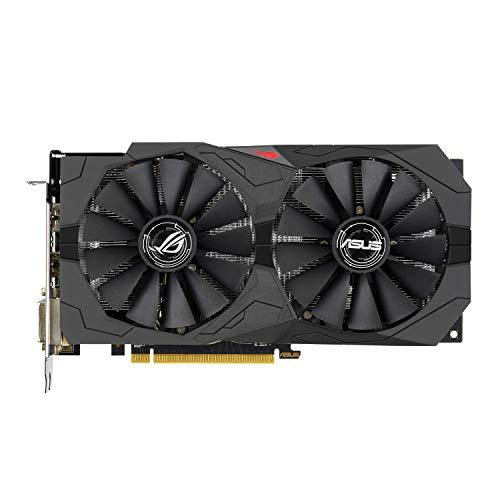 ASUS ROG Strix-RX570-O8G-Gaming AMD Radeon Grafikkarte (8GB GDDR5 Speicher, PCIe 3.0, HDMI, DisplayPort)