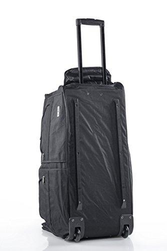 Sporttasche Reisetasche mit ausziehbarem Teleskop Griff Sport Reise Tasche Bag (M 60 Liter)