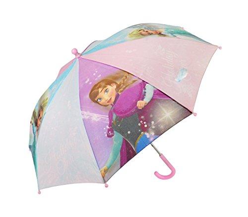 Paraguas 57 cm para niña con motivo de Frozen Disney Ana y Elsa