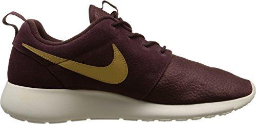 Nike Roshe One Suede, Chaussures de Sport Homme noir (Mahogany/Metallic Gold-Lght Bn)