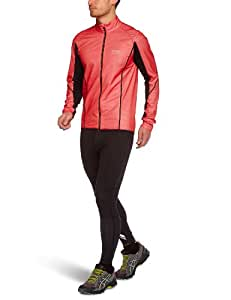 Gore Running Wear Men's Magnitude Jacket - Red/Black, X-Large