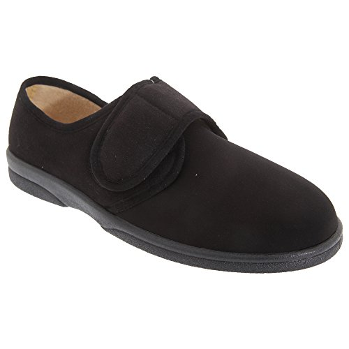Sleepers Arthur - Chaussons scratch super larges - Homme Noir