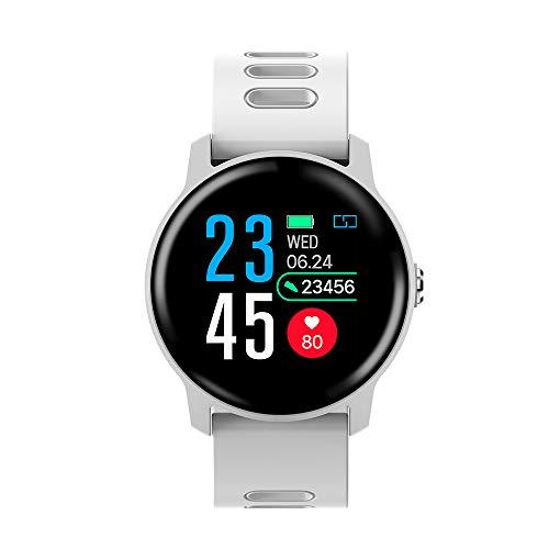 Festnight Smartwatch SENBONO 1,30' IP68 Impermeabile BT4.0 Pedometro per Il Fitness Calorie Frequenza cardiaca Sleepwatch...
