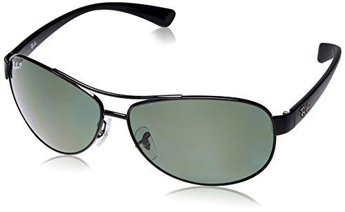 Ray-Ban Aviator Sunglasses (Gunmetal) (RB3386|002/9A63)