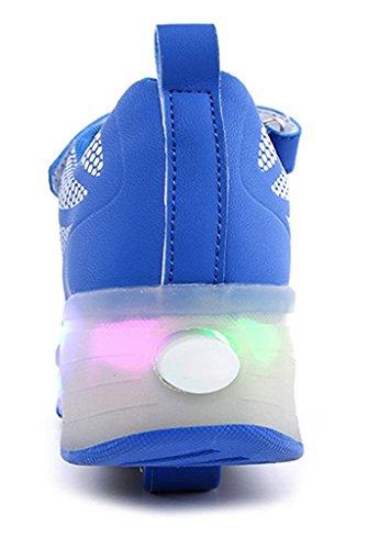 NEWZCERS , Chaussures d'athlétisme pour femme Blau (bz003)