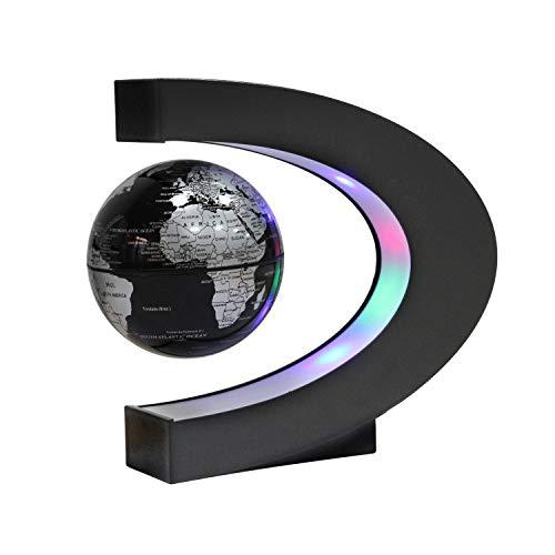 Dracarys Magnetisch Levitation Floating Globe Rotierende Weltkarte Anti-Schwerkraft Globus Für Bildungsgeschenk Home Office Klassenzimmer Schreibtisch Dekoration