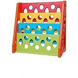 Intra Kids Plastic Bookshelf Magazine Holder for School/Office/Reception Living Room Furniture : Bookcases