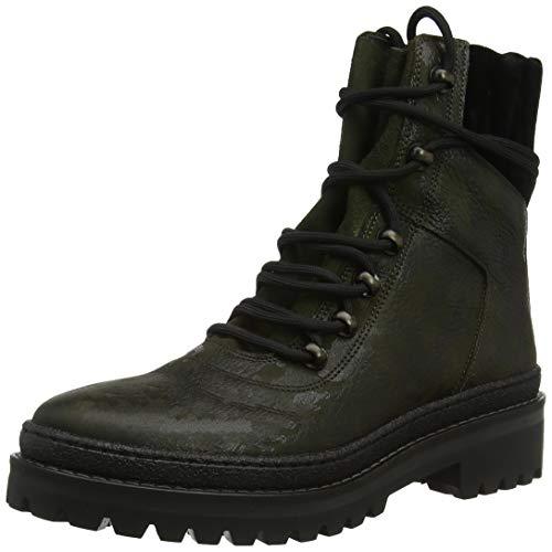 Tommy Hilfiger Damen MODERN Hiking CAMO Combat Boots, Grün 901, 38 EU