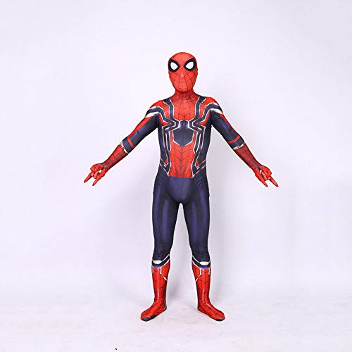 ASJUNQ Cosplay Revenge 3 Steel Spider-Man Zentai Ball Kostüme Kampfkampf Stretch Spider-Man ()