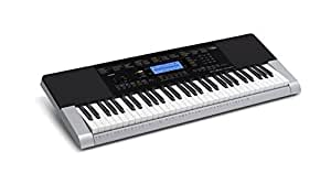 Casio CTK-4400k2 61-Key Keyboard (Silver/Black)