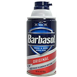 Barbasol, Thick Rich Shaving Cream, Original - 10oz Each