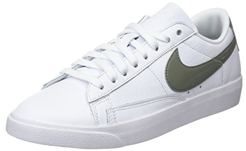 Nike Damen W Blazer Low Le Fitnessschuhe, Weiß Dk Stucco/White 106, 38 EU