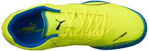 Puma Invicto frais Sneaker Multicolore - jaune de sécurité/bleu électrique (Safety Yellow/Peacoat/Electric Blue Lemonade)