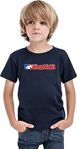 Limp Bizkit Logo Boys T-shirt 10/12 yrs (Ärmel Dollar Bill)