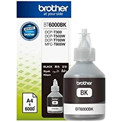 Brother Ink Bt6000 Black Colour For T300, T500 Printers