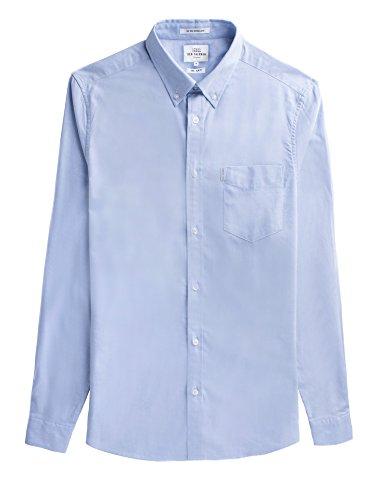 Ben Sherman Herren LS Core Oxford Shirt Freizeithemd, Blau (Blue Shadow 119), X-Small - Shadow Langarm-shirt
