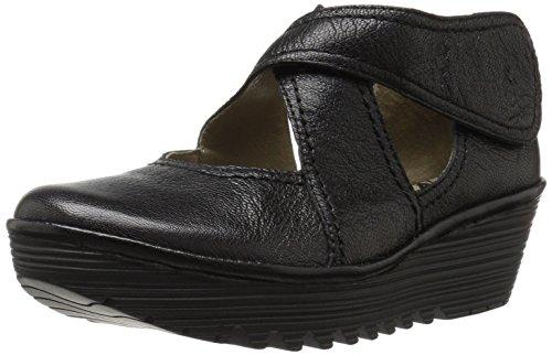 Rafe Mousse 657 Leather Shoes Wedge Fly Black Womens London EwZxHqnzg