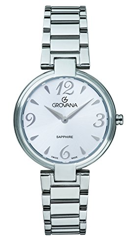 GROVANA Womens Analogue Classic Quartz Watch with Stainless Steel Strap 4556.1131999999998