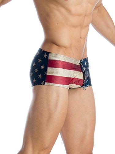 Gigo underwear Herren Badeshort einfarbig