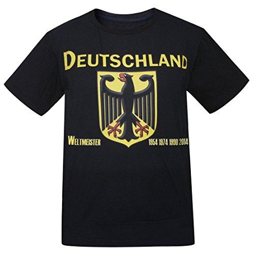 Deutschland Camisetas de Hombre Alemania (Tamaño:3XL)