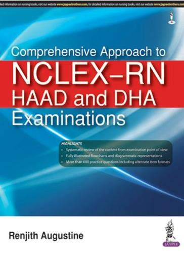 Comprehensive Approach To Nclex-Rn Haad And Dha Examinations