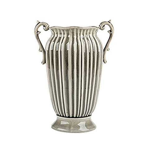 Ceramic Porcelain Large Flower Vase Vintage Shabby Chic 10