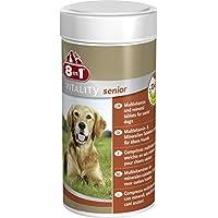 8in1 Multi Vitamin Tabletten Senior, zur Nahrungsergänzung bei älteren Hunden, 1 Dose (1 x 70 Tabletten)